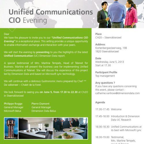 Dimension Data - E-invitation Microsoft