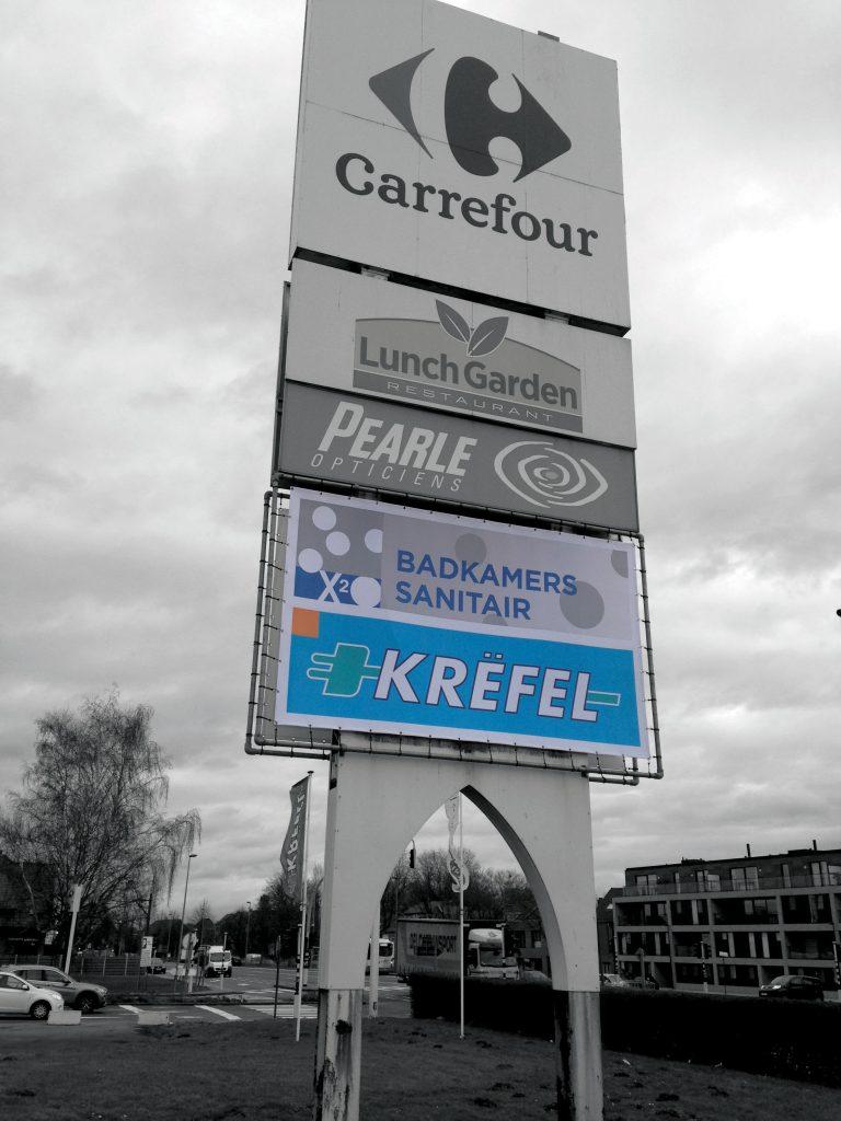 KREFEL Oostakker - Bâche