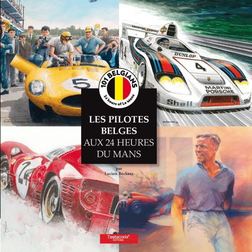 Les pilotes Belges aux 24H du Mans - Couverture