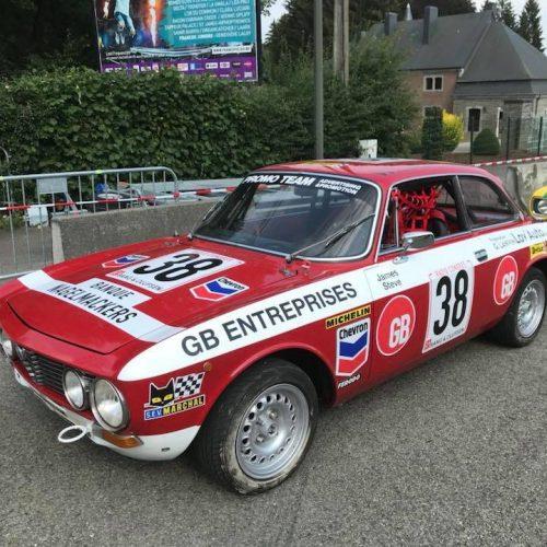 Restauration à l'identique de l'Alfa Roméo N°38 de 1974
