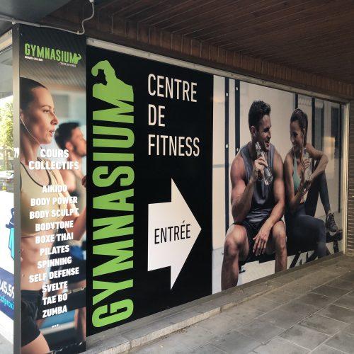 Le Gymnasium à Braine-L'Alleud - Entrée